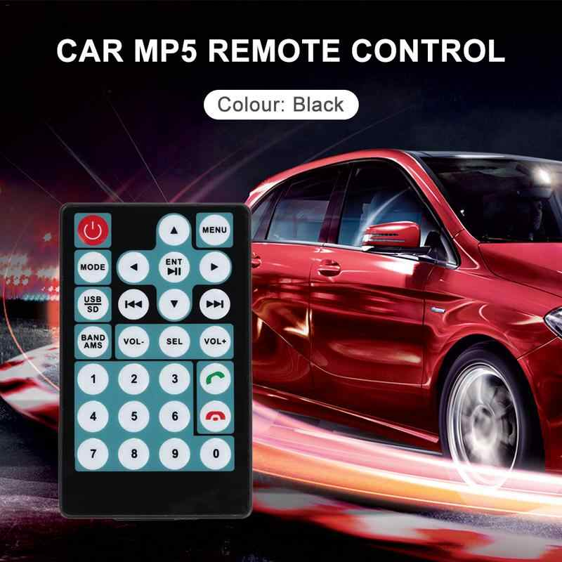 Car Accessories Car MP5 Intelligent 27 Buttons Remote Control Switch Simple Convenient Copy Operation Remote-Controls Unit