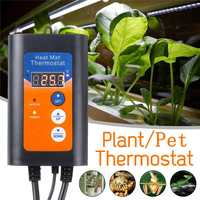 1000W 220V Heat mat thermostat, It is applied to plant seed germination and pet heating pad for warm heating
