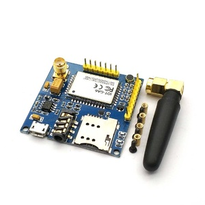 Image 1 - SIM900 A6 GPRS Pro Serielle GPRS GSM Modul Core DIY Developemnt Bord TTL RS232 Mit Antenne GPRS Wireless Modul Daten ersetzen