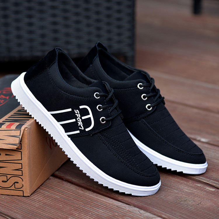 Brand Casual Shoes Men Breathable Canvas Shoes Fashion Men Flats Luxury Shoes Casual Trainers Footwear Black White KH825-831 C1Brand Casual Shoes Men Breathable Canvas Shoes Fashion Men Flats Luxury Shoes Casual Trainers Footwear Black White KH825-831 C1