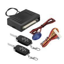 Горячая Распродажа, Универсальная автомобильная система входа без ключа, кнопка блокировки двери с пультом дистанционного управления, автомобильный пульт дистанционного управления s 12V