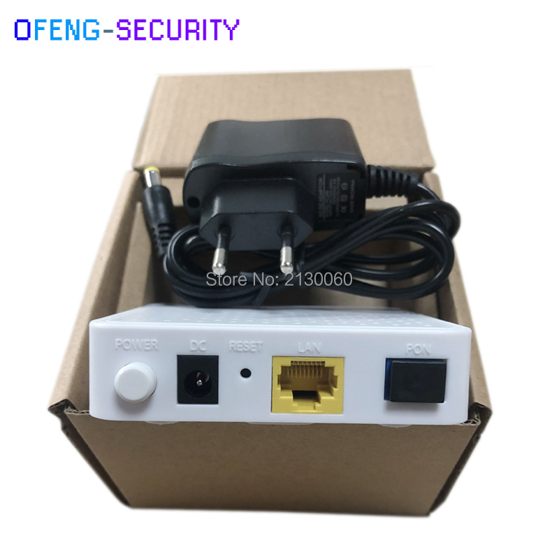 Free Shipping 1G GEPON ONU ONT English Version 1Port Optic Network Terminal