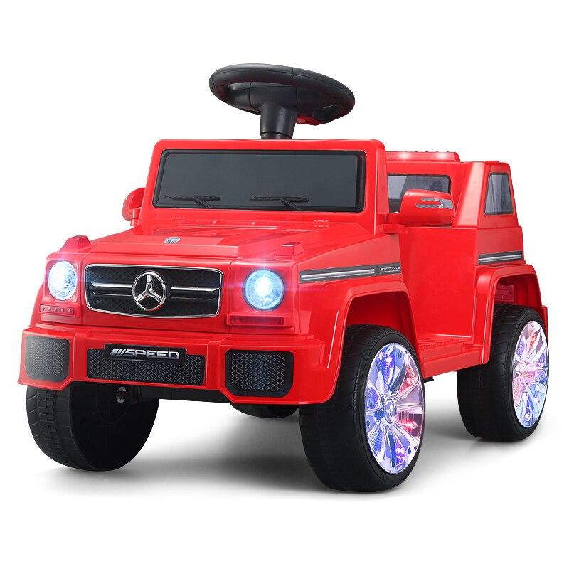 2 em 1 passeio bonde do carro das crianças em brinquedos da máquina escavadora música luz quatro rodas passeio da máquina de construção no carro dos brinquedos para crianças das crianças - 6
