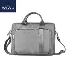 WIWU Laptop Bag 15.6 Inch Waterproof Tablet Case for Xiaomi Notebook Air 13.3 Laptop Messenger Bag for Lenovo Computer Bag 15.6 high quality original for lenovo thinkpad 14 inch laptop bag computer shoulder bag free and fast shipping