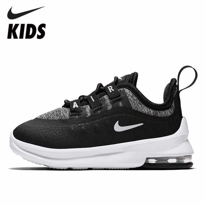 9ebdfc3b7b389 Nike AIR MAX AXIS SE Children Air Cushion Shoes Leisure Time Motion Running  Shoes Sneakers#