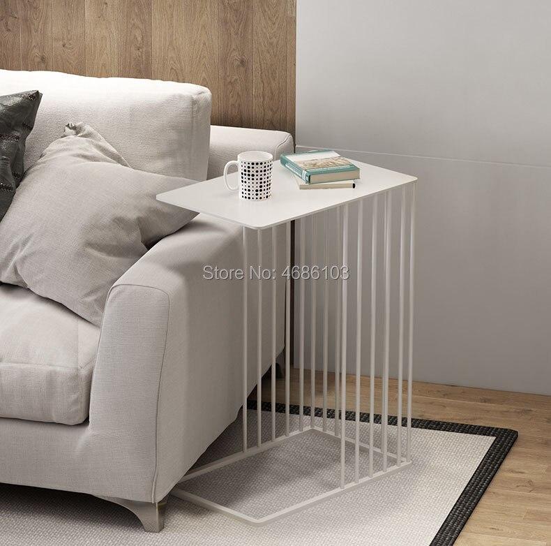 Luxury gold Creative wrought iron coffee table modern ...