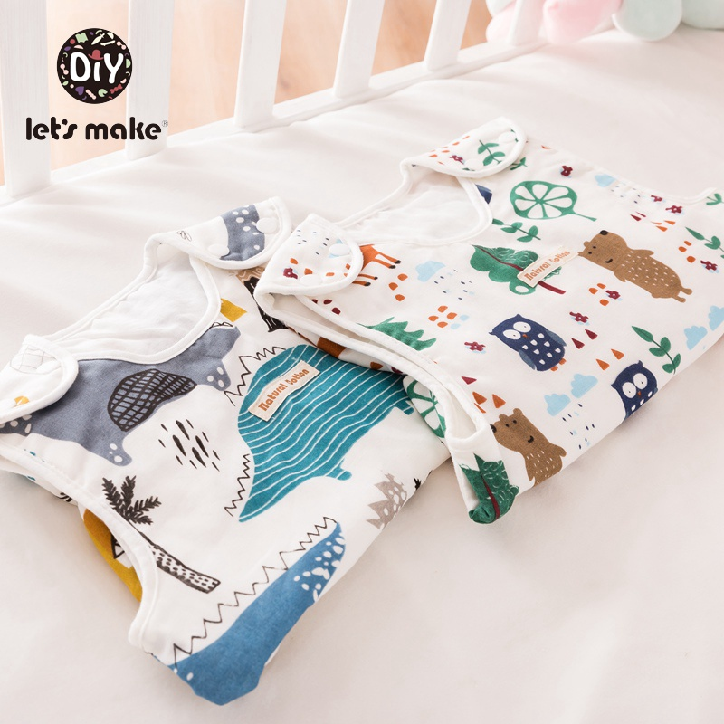 Let's Make Baby Swaddle Boys And Girl Clothes Cartoon Pattern Newborn Baby Wrap Cotton Baby Products Blanket & Swaddling 1pc