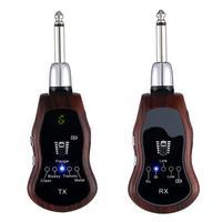 Portable Wireless Guitar Effector Clean/Bluesy/Flanger/Tremolo/Metal 5 Sound Modes Bluetooth Electric Guitar Effector
