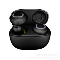 True Bluetooth Wireless Earbuds Headphones TWS in Ear Stereo Earphones with Charging Case with Built in Mic Auto for Smart Phone