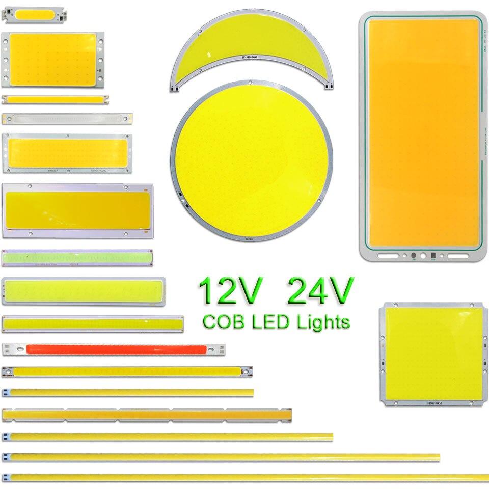 12V COB светодиодный светильник лампы DC12V светодиодный светильник для грузовиков автомобильный светильник ing DIY микс Размеры 2 Вт-200W COB светодио...