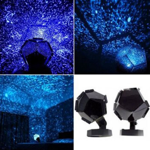 Celestial Star Astro Sky Cosmos Night Light Projector Lamp Starry Bedroom Romantic Home Decor for Drop Shipping