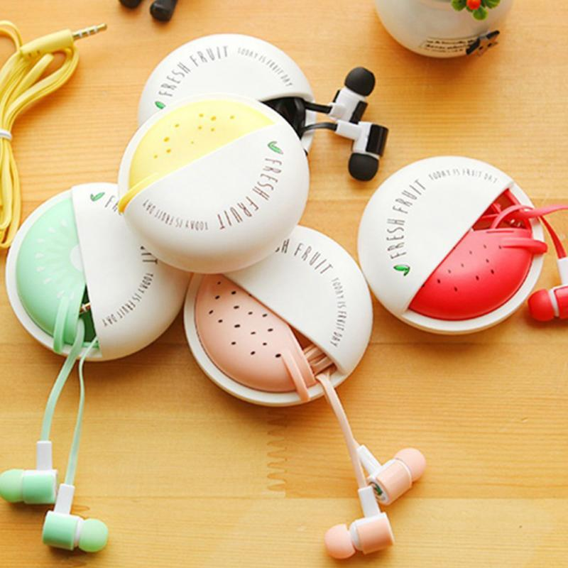 New Cute Candy Portable Earphones 3.5mm in-ear Earphone with Microphone for Mobile #20