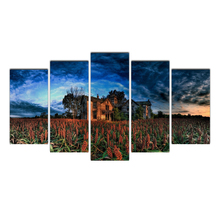 Canvas HD Prints Pictures Modern Wall Art Framework 5 Pieces house Paintings wheat Modular pictures Poster Home Decor Cairnsi