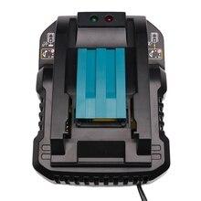 Dc18Rc 14,4 V 18 V Li-Ion Батарея Зарядное устройство 4A ток зарядки для Makita Bl1830 Bl1430 Dc18Rc Dc18Ra Мощность инструмент батарея разъем ЕС