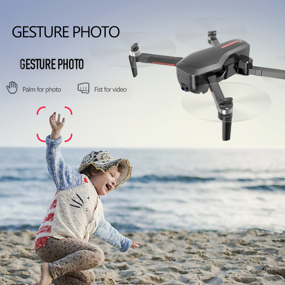 <font><b>Mini</b></font> <font><b>drone</b></font> Quadcopte CSJ-X7GPS <font><b>Brushless</b></font> 4K with Camera 5G Wifi <font><b>FPV</b></font> Remote Toys Foldable Gesture Photo RC helicopter image