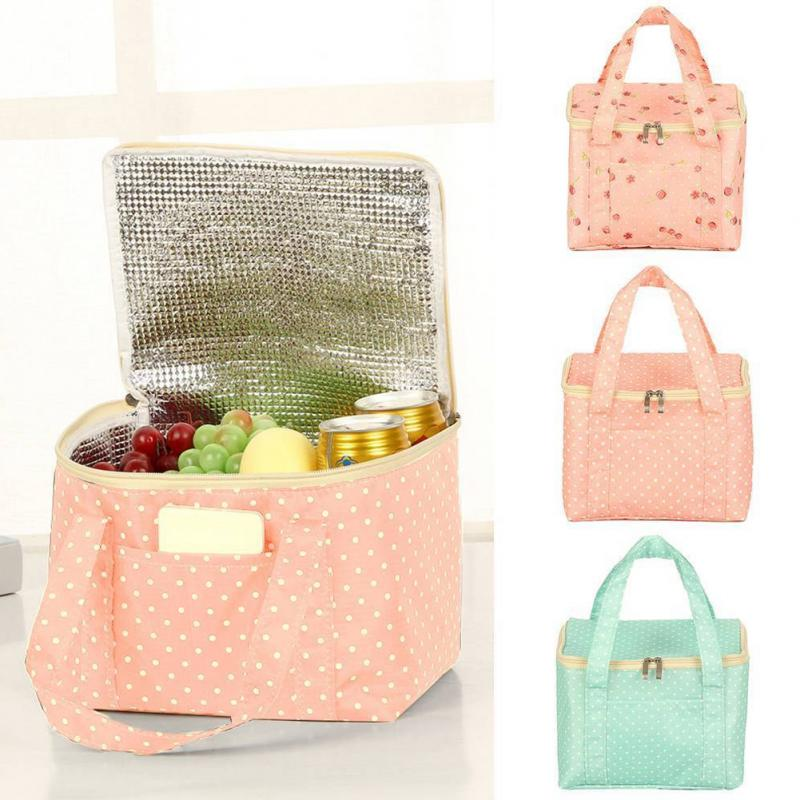 Lunch Bags Oxford Portable Insulated Lunch Pouch Thermal Food Picnic Case Lunch Bags Large Capacity Tote For Women Kids #25