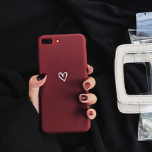 Heart Patterned Soft Phone Case for iPhone – FREE Shipping