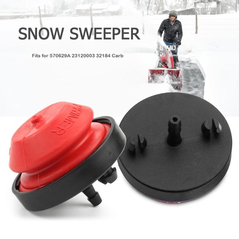 Snow Remover Oil Bubble Snow Remover Oil Carburetor Accessories Snow Sweeper Snow Blower Primer Bulb Fits