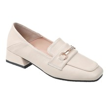 Hoes Women Casual Round Toe Spring Lazy New Low-heeled Women
