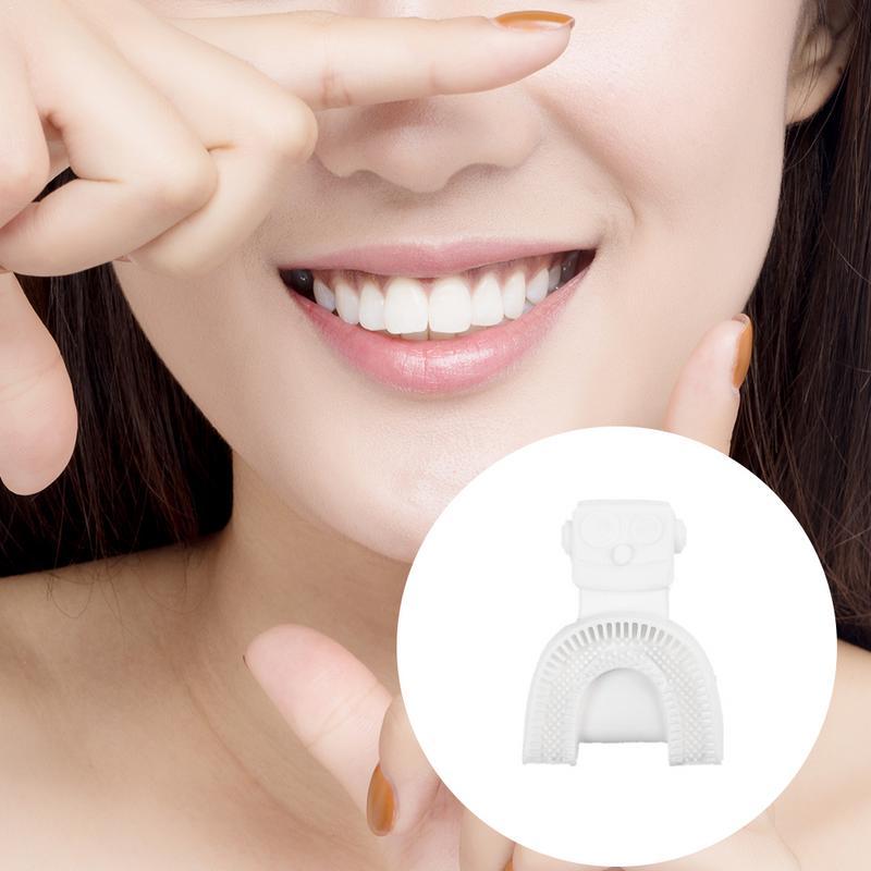 360 degrés brosse à dents électrique automatique sonique USB Rechargeable intelligente Ultra sonique silicone brosse à dents 5 Modes U Type Timer4