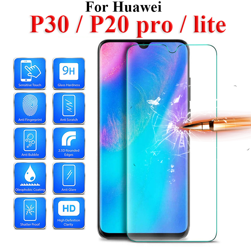 Glass On For Huawei P30 Lite Protective Glas P20lite P20pro P 30 20 Light Huawey 10lite 30lite 20lite 20pro P30 Safety Verre
