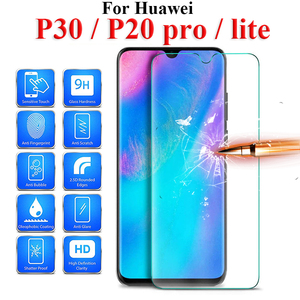 Glass On For Huawei P30 Lite Protective Glas P20lite P20pro P 30 20 Light Huawey 10lite 30lite 20lite 20pro p30 Safety Verre(China)