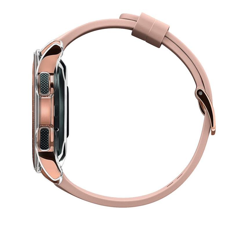 Image 4 - 360 Degree TPU Protector Case Scratch proof Anti fall Cover Protective Shell For Samsung Galaxy Watch 42MM 46MM Gear S3 Frontier-in Smart Accessories from Consumer Electronics