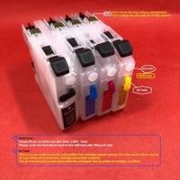 YOTAT Recarregáveis cartucho de tinta para O Irmão MFC J2310 MFC J2510 LC565 LC567 MFC J3520 MFC J3720 com o chip ARC Cartuchos de tinta     -