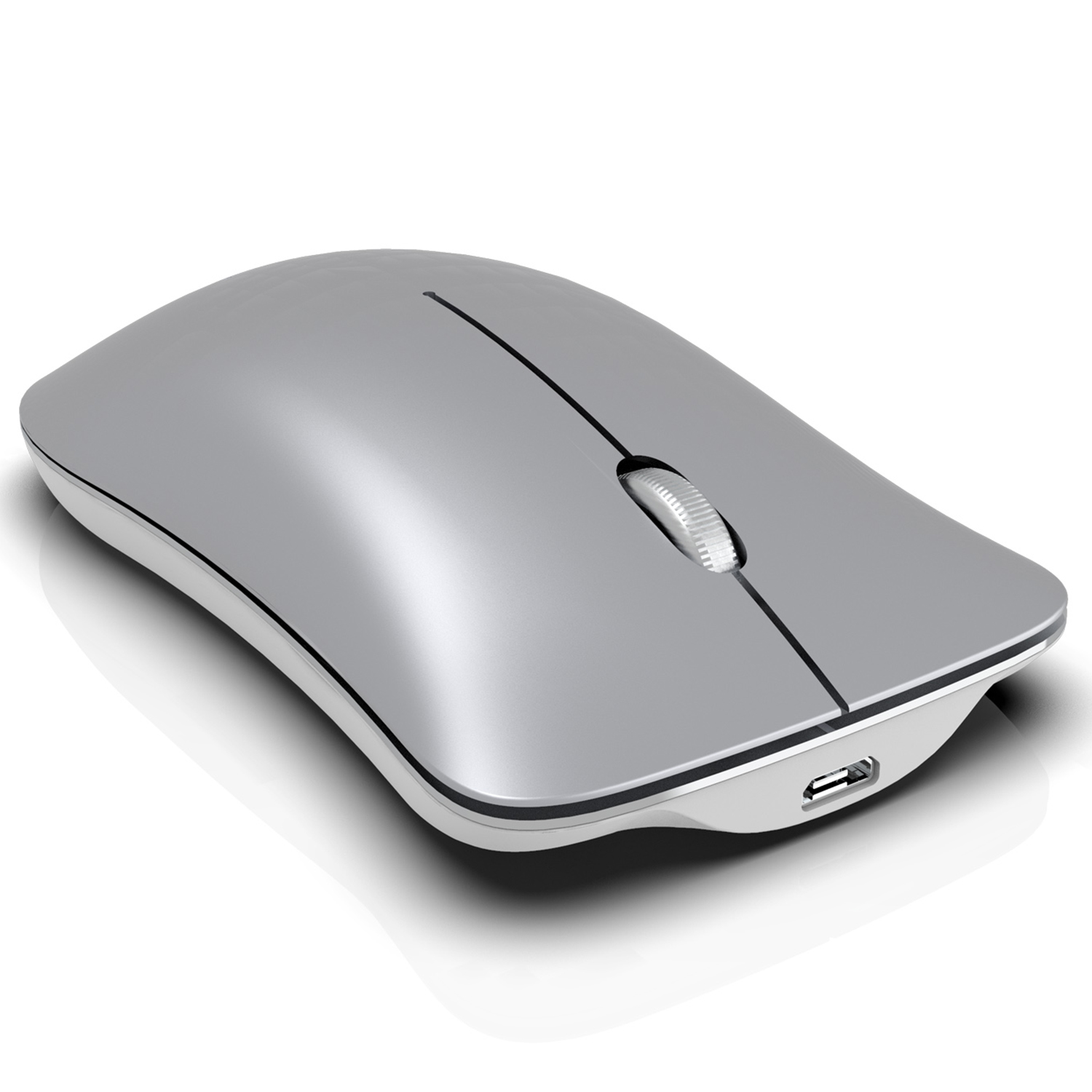 HXSJ T23 Mouse Wireless Mouse Mice Ergonomic Vertical Mice BT 2.4Ghz Wireless High Speed Rechargeable Optical Sensor for Windo
