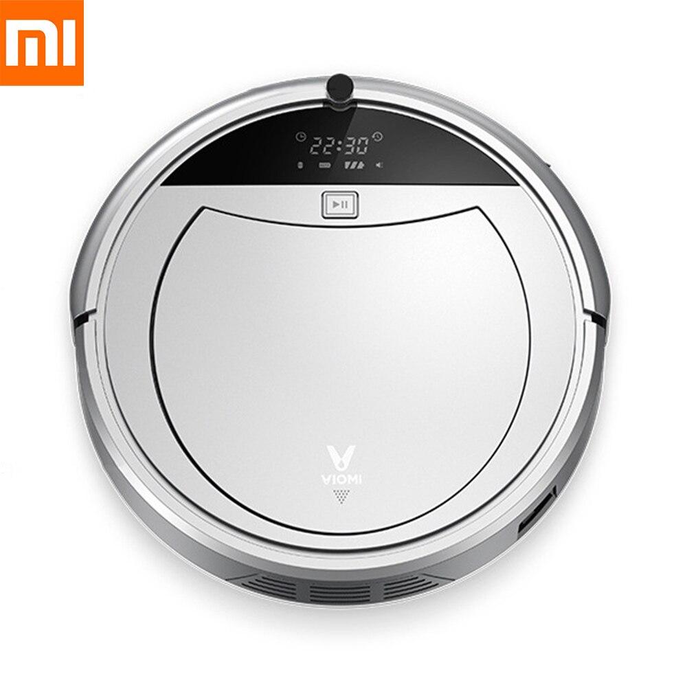 Aspirateur Robot Viomi Xiaomi d'origine LCD Auto-balayage poussière télécommande chemin de planification aspirateur sans fil intelligent