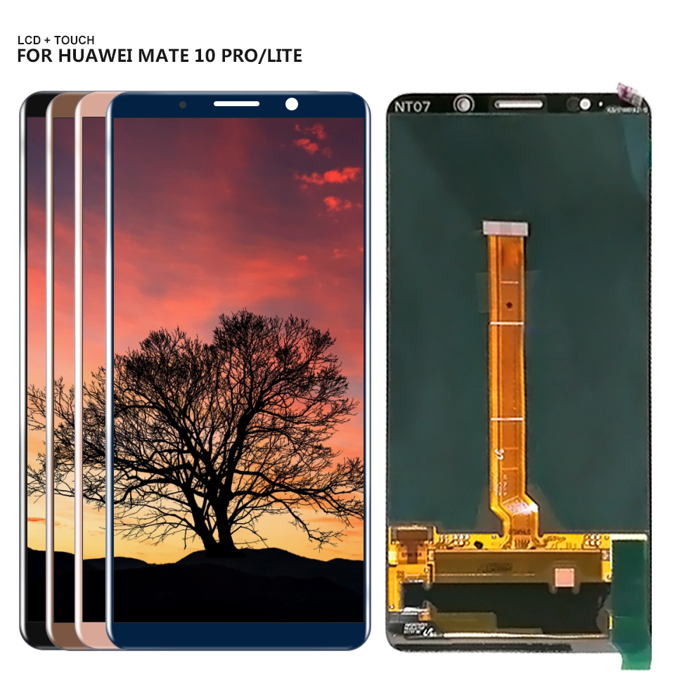 Per 6.0 Huawei Mate 10 Pro Display LCD Touch Screen Digitizer Assemblea Pannello di Ricambio + StrumentiPer 6.0 Huawei Mate 10 Pro Display LCD Touch Screen Digitizer Assemblea Pannello di Ricambio + Strumenti