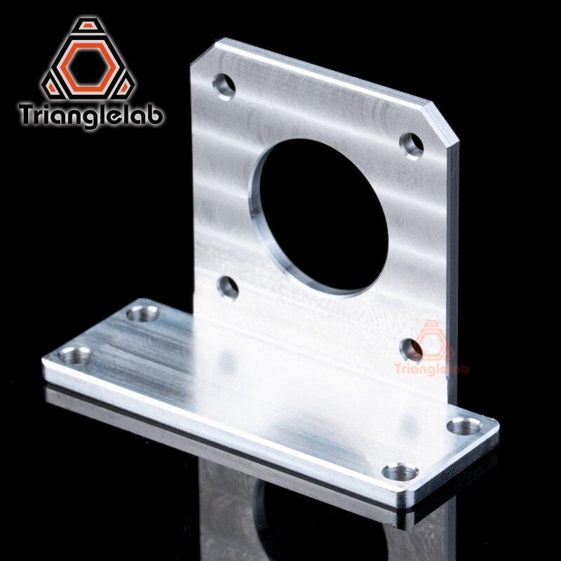 Trianglelab liga de alumínio suporte bmg nema17 suporte de montagem do motor para extrusora bmg tian extrusora aero 3 dprinter