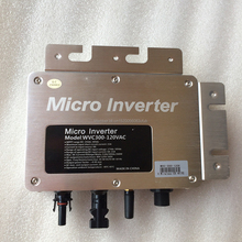 WVC300W400W Micro inversor conectado a la red MPPT inversor de onda sinusoidal pura Salida de DC22V 50V de entrada AC110/230V 50/60HZ con IP65 impermeable