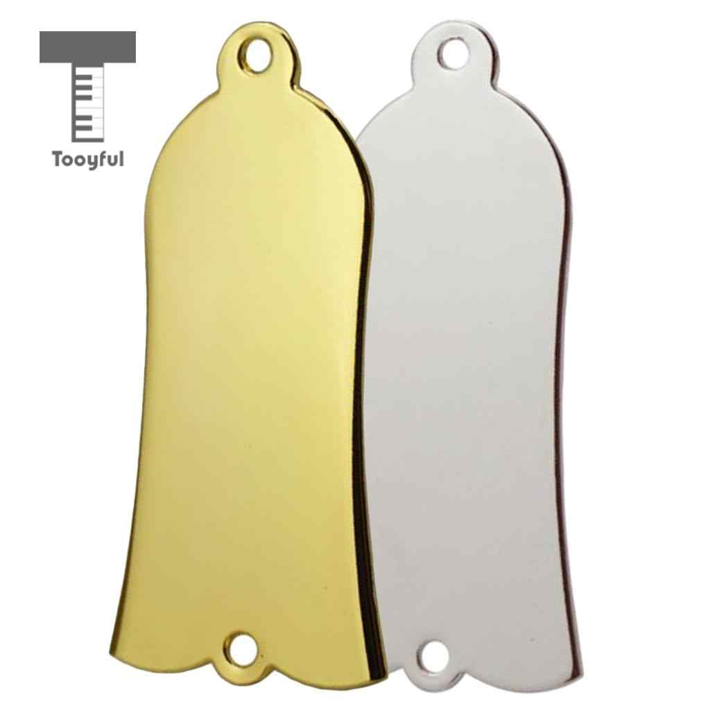 Tooyful 2 pieces/set Bell Shaped Truss Rod Cover with 4 Pieces Screws for Les Paul Electric Guitar Parts