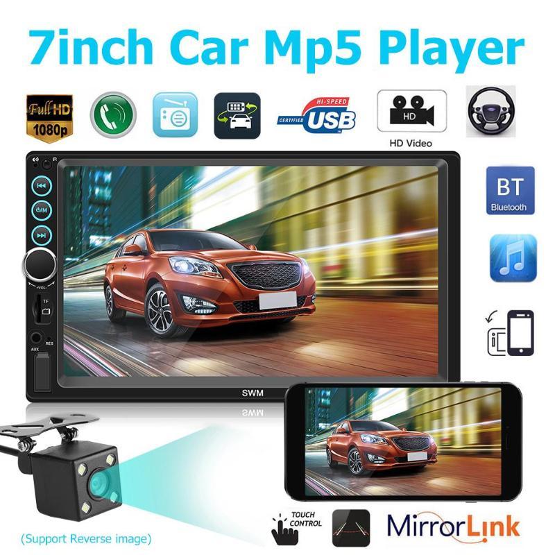 X6 7 inch HD MP5 player 2 Din Bluetooth Stereo Car