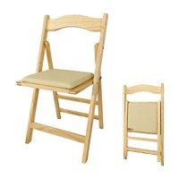 SoBuy FST06 Wooden Home Office Folding Chair Kitchen Dinning Chair