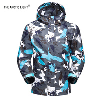 THE ARCTIC LIGHT Camouflage Waterproof Jacket Women Men Outdoor Travel Hiking Jackets Tactical Coat Spring Autumn Outwear