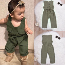 Kids Baby Girl Romper Floral Jumpsuits 3M-3Y Outfits