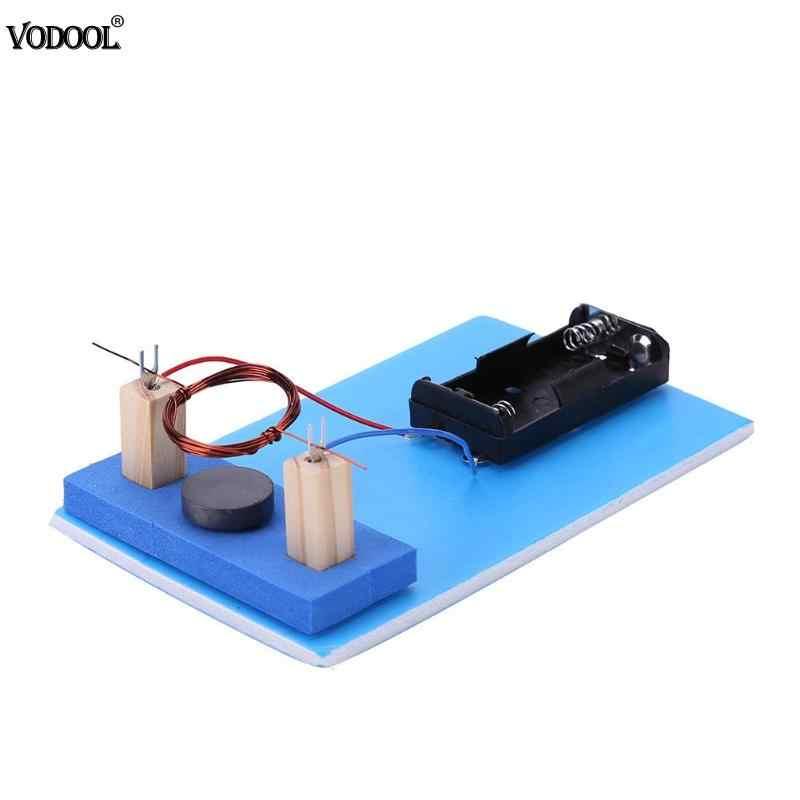 DIY DC Electric Motor Plastic Metal Students Science Experiment Equippment Material Child Educative Toys