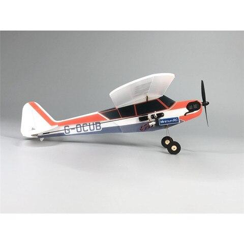 j3 cub minimumrc bankyard flyer 360mm wingspan aviao kit pnp