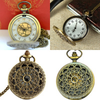 Retro Pocket Watch Hollow Spider Web Pocket Watch European And American Classical Pocket Watch Men And Women Love Wild