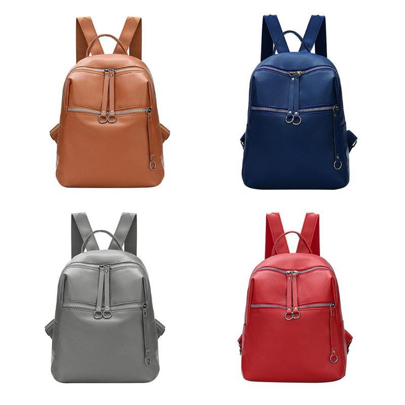 38a6e632a673 2019 женская мода рюкзаки мягкий искусственная кожа рюкзак плечо ...