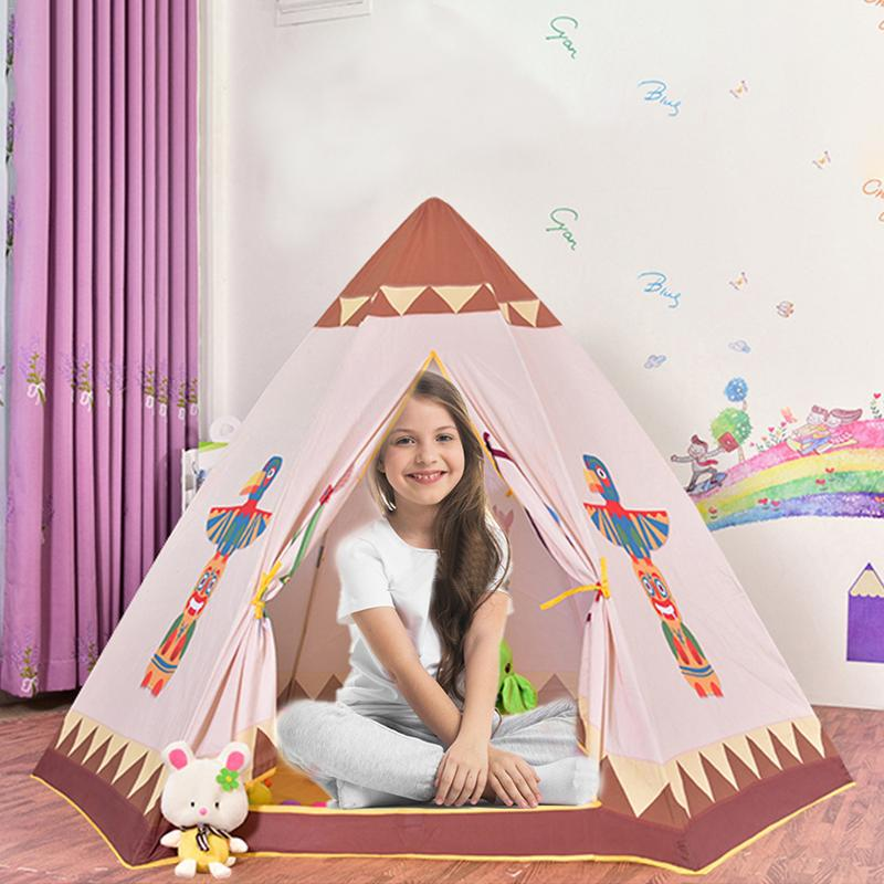 Childrens Tent Indoor Game House House Indian Hex Tent Baby Ocean Ball Pool Foldable And Can Be RemovedChildrens Tent Indoor Game House House Indian Hex Tent Baby Ocean Ball Pool Foldable And Can Be Removed