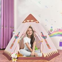 Children's Tent Indoor Game House House Indian Hex Tent Baby Ocean Ball Pool Foldable And Can Be Removed