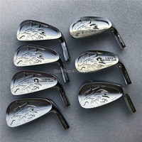 golf irons EMILLID BAHAMA EB 901 silver forged limited golf iron head carbon steel CNC Production process