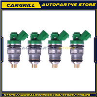 DEFUS 4pcs OEM 15710 87J00 Original Flow Valve Fuel Injector DF40 DF50 1999 2010 Injection Nozzle Replacement Petrol For Suzuki
