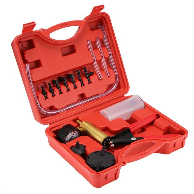 Автомобильный комплект для вакуумного насоса вакуумный насос автомобильный мотоцикл набор инструментов для остановки кровотечения насос ...