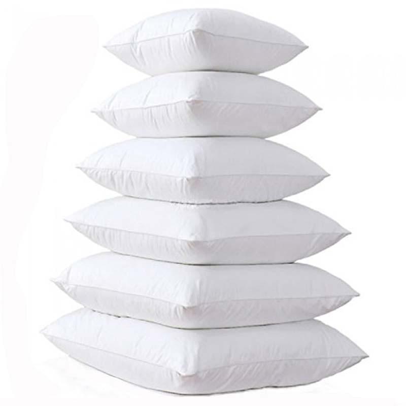 Casa almofada de enchimento interior algodão-acolchoado travesseiro núcleo para sofá carro macio almofada inserção almofada núcleo 14/16/18/20/22/24 Polegada