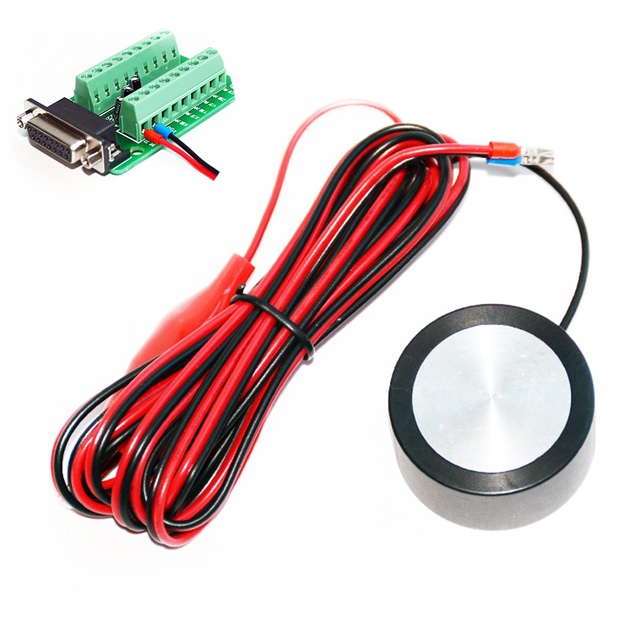 Kit Router Mill Hoge Precisie Cnc Houtbewerking Diy Z Axis Zero Controleren Praktische Instrument Aanraken Plaat Graveermachine Tool