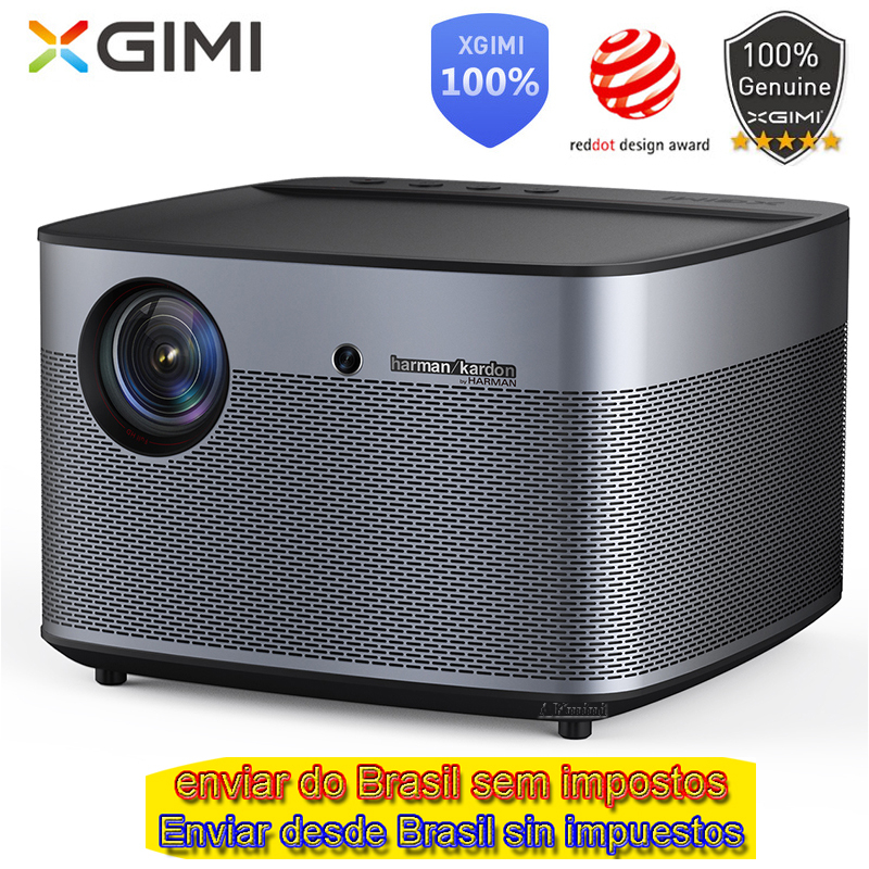 XGIMI H2 proyector DLP 1920x1080 Full HD obturador 3D soporte 4 K Video Android 5,1 Bluetooth Wifi casa teatro Beamer